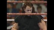 Wwe The Undertaker 1 - 0 Wrestlemania 7 - Jimmy Superfly Snuka *hq