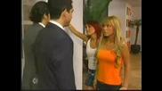 Mia Y Roberta Chocan Con Miguel Y Diego