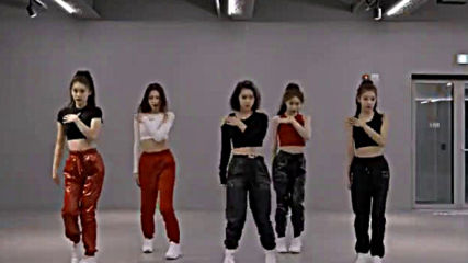 Mirrored Itzy - Wannabe Dance Pratice