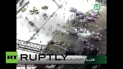 Saudi Arabia: Mecca crane collapse death toll rises to 107