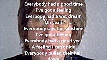 Beatles - I've got a feeling /with lyrics/