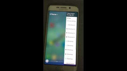 Galaxy S 6 edge marshmallow 6.0