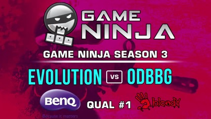 Game Ninja CS:GO #1 - Evolution vs ODBbg