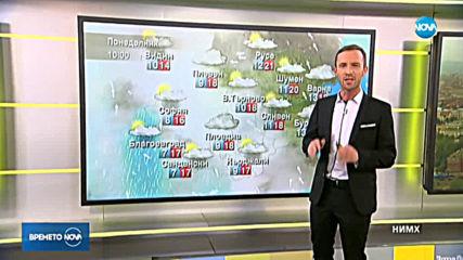 Прогноза за времето (18.11.2019 - сутрешна)