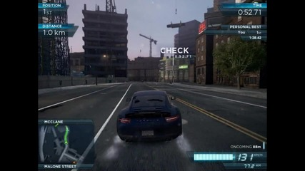 Need for Speed Most Wanted 2012 Началото + Малко каране