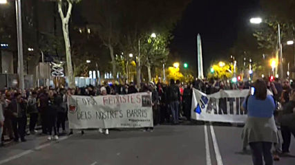 Spain: Barcelona protests continue for fourth straight day