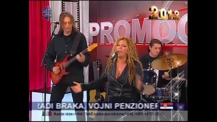 Indira Radic - Ide to s godinama - (LIVE) - Promocija - (TV Dm Sat 2012)