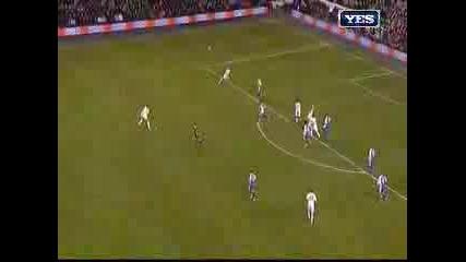 4 гола на Бербатов - Тотнъм 6 - 4 Рединг