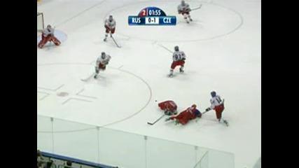 Чехия - Русия 2:1 (финал на Световното първенство по хокей 2010 - Кьолн, Германия)