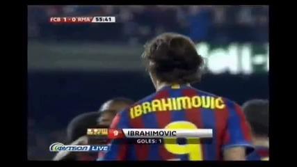 Барселона 1:0 Реал Мадрид Ibrahimovic