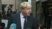 Belgium: Donald Trump could be good for Britain and EU - Boris Johnson