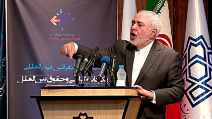 Iran: Multilateralism 'an absolute need' for mankind - Zarif slams US