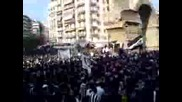 Paok Fans Protest - Феновете Полудяват!!!