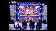 Целия Kлип - Изглеждаш Като Малка Проститутка - X - Factor България 15.09.11