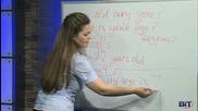 Аз уча английски език . Сезон 1, епизод 6 , урок 6 на български