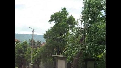 Вятър в Горна Оряховица
