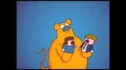 Joe Cartoon - Gerbil Hand Puppet Theater
