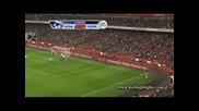 Арсенал - Фулъм 3 :3 10.11.2012 Бербатов с 2 гола и асистенция ,