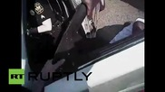 USA: Police taser and pepper-spray black man suffering medical emergency