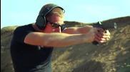 Стрелба с Glock 17 с бързомерец