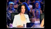 Жената която буквално повали журито в X Factor ! :д