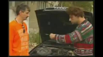 Циганин на шофьорски изпит - Смях