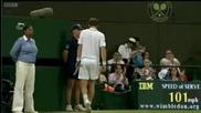 Wimbledon 2009 : Мъри - Вавринка | 5ти сет