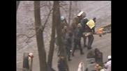 Стрелба по протестиращи в Киев 20 2 2014г 16+