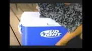 Най - Красивта Жена на Света Реклама на Bud Light (много Смях)