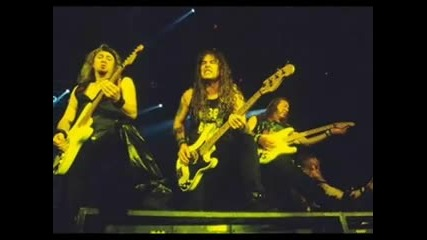 iron maiden - we will rock you and smoke on the water