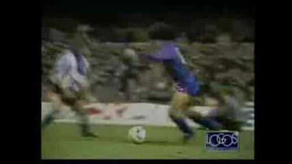 Най - добрите голове на Марадона в Барса!