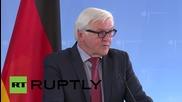 Германия: Щайнмайер иска членство за Черна Гора в Европейския съюз и НАТО