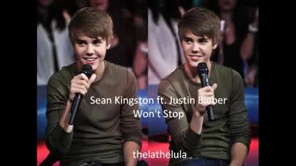 Wont stop - Sean Kingston ft. Justin Bieber