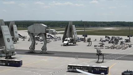 Изтекли кадри от снимачната площадка на Star Wars Episode 7