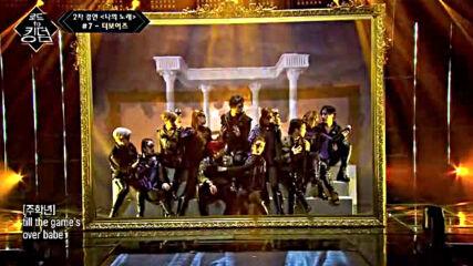 Road to Kingdom s01e04- The Boyz - Reveal ( Catching Fire ) 2-ро състезание 210520-7