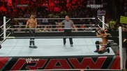 Wwe Raw 28.07.2014: Seth Rollins Vs Chris Jericho