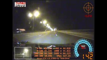 Да спукаш гума с 327 км/ч на магистралата