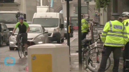 Unicyclist in Hospital After Collision in London