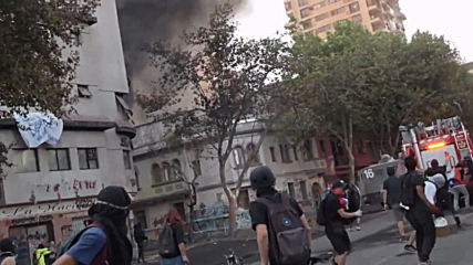 Chile: Clashes continue overnight in Santiago amid protester's death