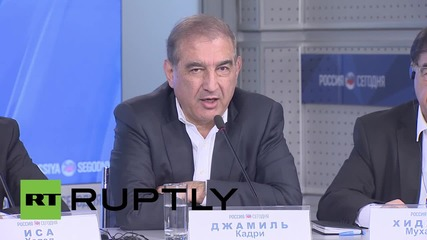 Russia: Syrian opposition's Qadri praises Russian anti-terror operation