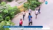 Мъже нападнаха с мотики и лопати група ученици