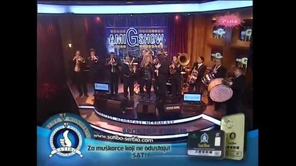 Indira Radic i Stanko - Marija (Trubaci) - Ami G Show - (TV Pink 2012)
