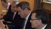 Борисов се срещна с премиера на Бавария Маркус Зьодер