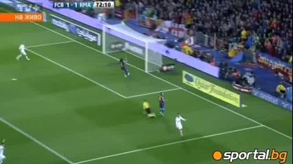 Реал Мадрид съкруши Барса на Ноу Камп 2:1 на 21.04.2012г