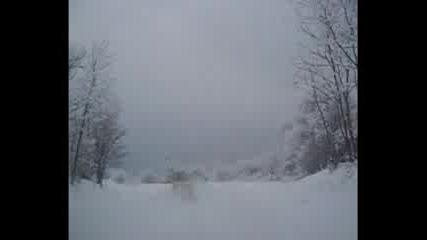 Каране В Снега