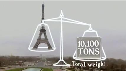Как е изградена Айфеловата кула (статистика)