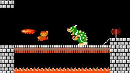Смях! Марио побеснява , не играе по правилата на играта!
