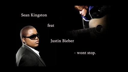 Поздравът на Джъстин Бийбър към хейтърите! Justin Bieber ft. Sean Kingston - Wont Stop
