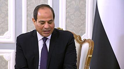 Belarus: Lukashenko welcomes Egypt's Sisi in Minsk