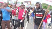 Nigeria: Demonstrators mark anniversary of Lekki toll gate shooting and End SARS demos